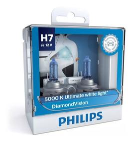 ( 100% Original ) Philips Diamond Vision 5000k H7 - Promoção
