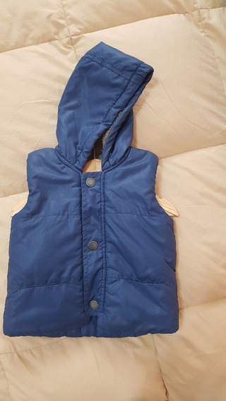 Chaleco Campera Mimo Talle L 9 A 12 Meses