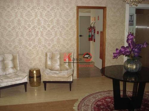Apartamento Com 1 Dormitório À Venda, 52 M² Por R$ 330.000,00 - Vila Matias - Santos/sp - Ap10321