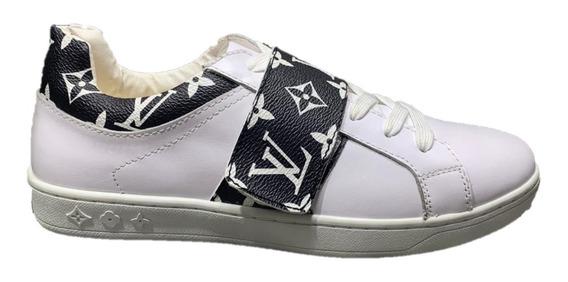 Tenis Sneakers Louis Vuitton Supreme, Envío Gratis