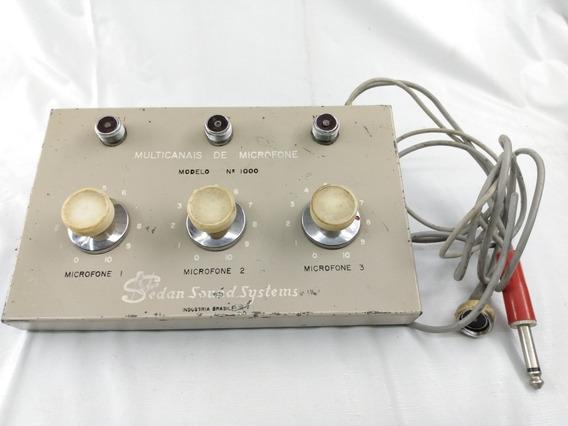 Mixer Antigo Para Microfone.