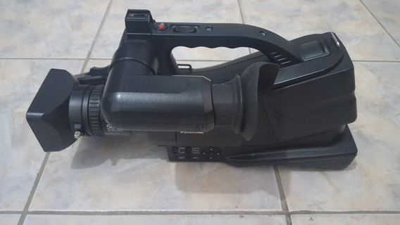Filmadora Panasonic Agd Vc20p Prof 3ccd 500x C/ Case