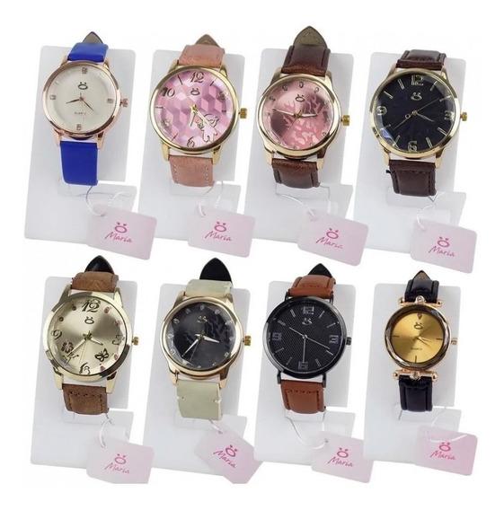 Kit 10 Relógios Femininos C/ Nota Fiscal P/ Revender Atacado