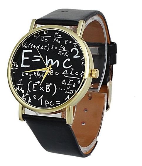 Reloj Hombre / Mujer (unisex) Modelo E=mc²