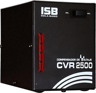Regulador Sola Basic Compensador Voltaje Cvr2500 1500 Watts