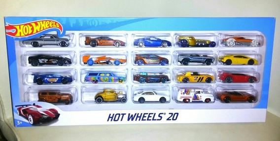 Hot Wheels Combo De 20 Carritos Nuevos Totalmente Originales