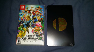 Super Smash Brothers Ultimate + Steelbook