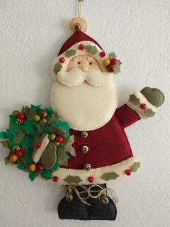 Santa Claus Fieltro Mercadolibre Com Mx