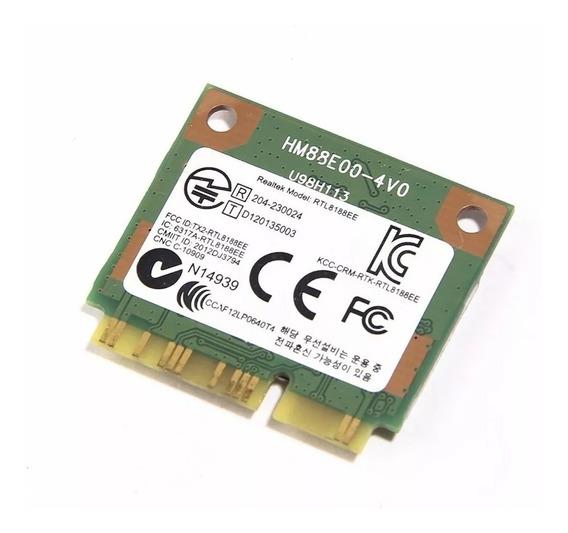 Placa Wifi Notebook Realtek Rtl8188ee 709505-001 Exo Bgh Hp