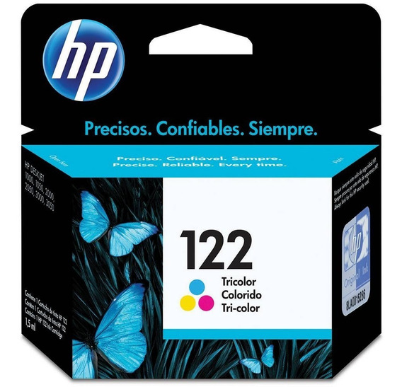 Cartucho Hp 122 Color 1,5ml - Ch562hb