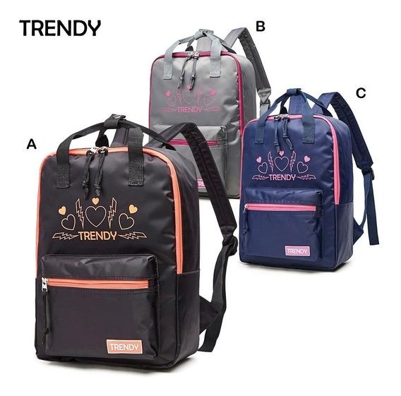 Mochila Trendy 3 Colores