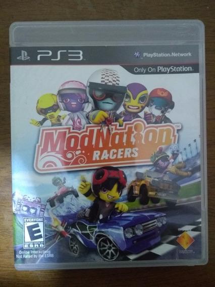 Mod Nation Racers Para Ps3 - Usado