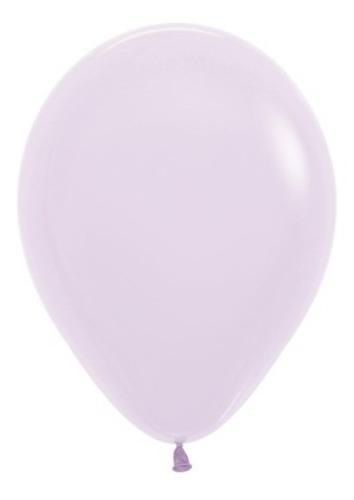 Globos R-12 Pastel Mate Lila X 50 -sempertex