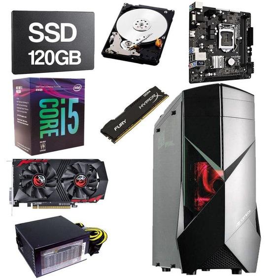 Pc Gamer Intel Core I5 8400 2.8 8gb Ddr4 120gb Hd 1tb 4gb