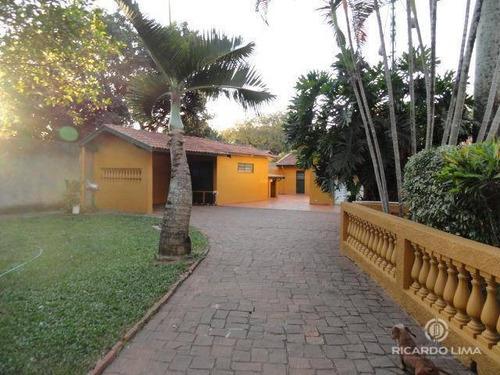 Chácara Residencial À Venda, Santa Rita, Piracicaba. - Ch0009
