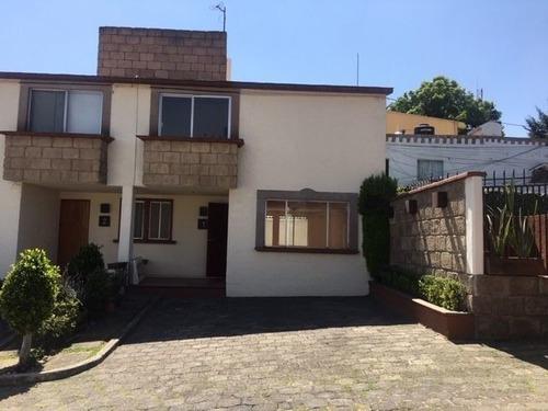 Sh Casa En Condominio Horizontal En Cuajimalpa!