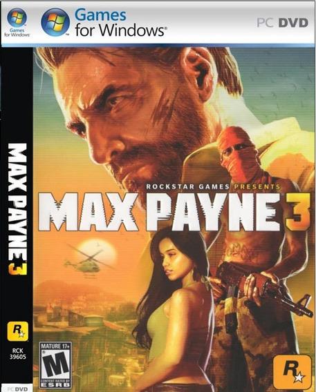 Max Payne 3 Pc-dvd- (midia Fisica) Off Line