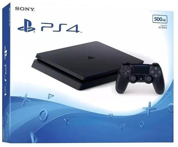Ps4 Slim Sony 500gb Hdr Original Lacrado Cuh-2215a Playstation