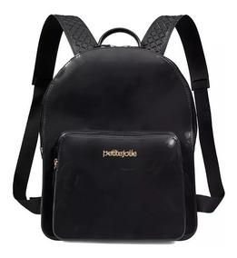 Bolsa Mochila Petite Jolie Kit Bag Pj2032 Pvc Verniz   Adrys