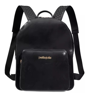 Bolsa Mochila Petite Jolie Kit Bag Pj2032 Pvc Verniz | Adrys