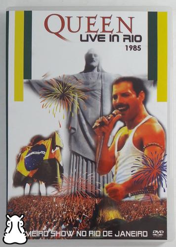 Dvd Queen - Live In Rio 1985 Primeiro Show No Rio De Janeiro