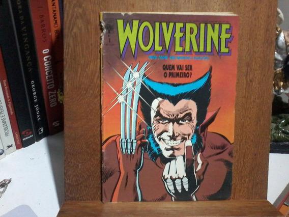 Hq Wolverine - Mini-série Em Quatro Edições - Original