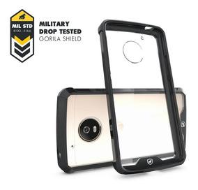Capa Ultra Slim Air Preta P/ Moto G5 Plus - Gorila Shield