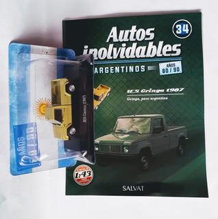 Autos Inolvidables Argentinos Años 80/90 N° 34 Ies Gringa