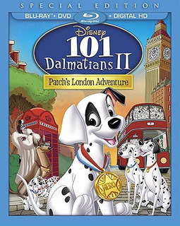 Blu-ray : 101 Dalmatians Ii: Patch