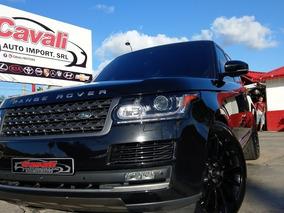 Land Rover Range Rover Supercharged V6 Negra 2016