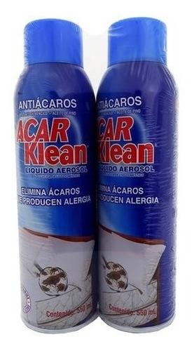Acar Klean Antiácaros 2 Unidades/ 550 Ml