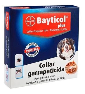 Bayticol Plus Collar Grande Perro Pulga Garrapata Bayer Tps
