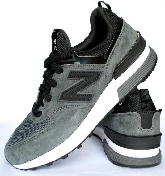 Zapatillas New Balance Gris Negro Hombre