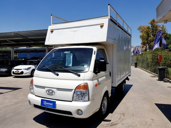 Hyundai Porter 2.5 Crdi Furgon Con Rhin Y Rampla Hidraulica