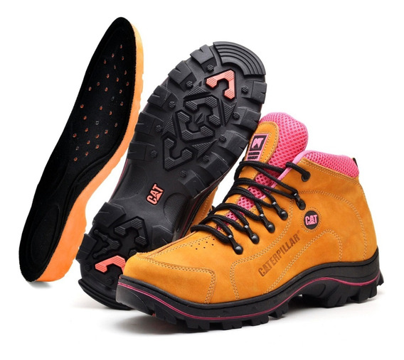 Botina Boots Adventure Feminina Escalada Palmilha Gel