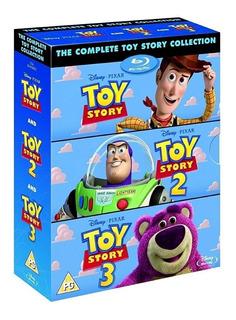 Toy Story Colección 3 Películas Blu-ray