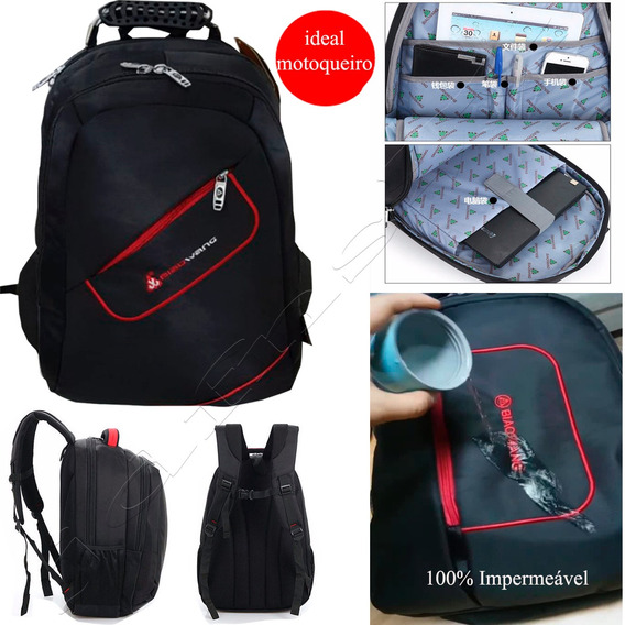 Mochila (g) Notebook De Gamer 17 Imperm Anti Impacto Bw2004