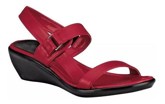 Sandalia Roja Dama