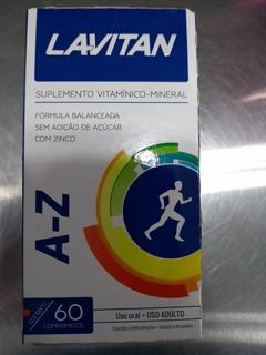 Lavitan A-z Suplemento Vitamico E Mineral