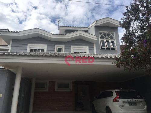Sobrado Com 4 Dormitórios À Venda, 450 M² Por R$ 2.400.000 - Condomínio Granja Olga Ii - Sorocaba/sp - So0418