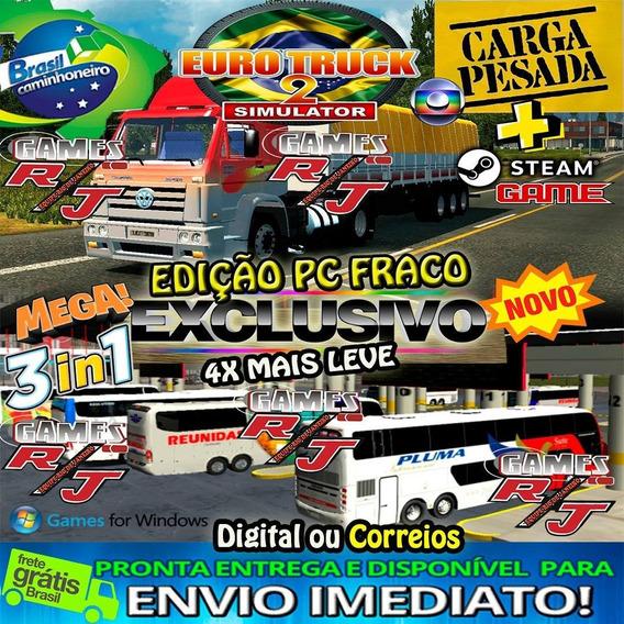 Euro Truck Simulator 2 Mod Brasil 2020 Jogo Original Steam