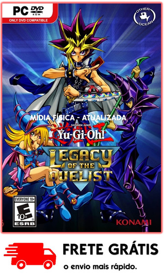 Yu - Gi - Oh! Legacy Of The Duelist Pc ( Em Mídia Física )