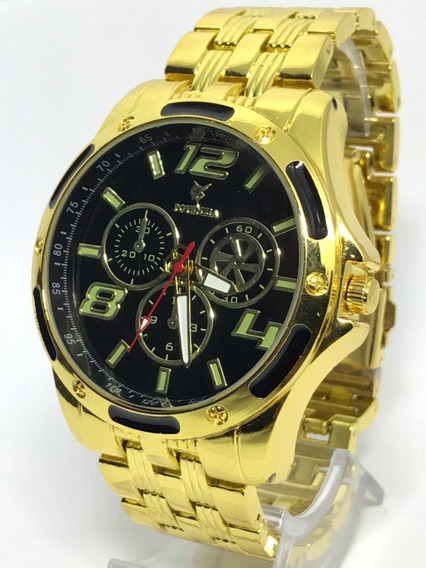 Kit 5x Relógio Potenzia Lançamento Exclisivo + Caixa.