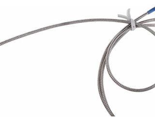 Pt100 Sensor Termómetro 1m Cable De Alta Temperatura 500°