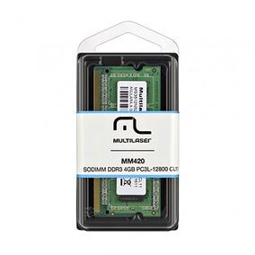 Memória Ram Multilaser Ddr3 Sodimm 4gb Mm420