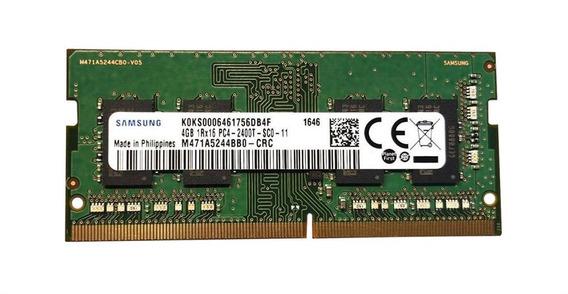 Memoria Samsung 4 Gb Ddr4 Pc4 2400 M471a5244bb0-crc Notebook