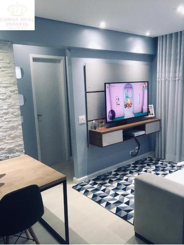 Imagem 1 de 30 de Lindo Apartamento De 2 Dormitorios Com Area De Lazer Completa!! - Ap00586 - 69513385