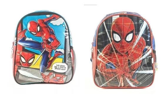 Mochila Spiderman 12 Pulgadas Jardin Escolar Original 62300