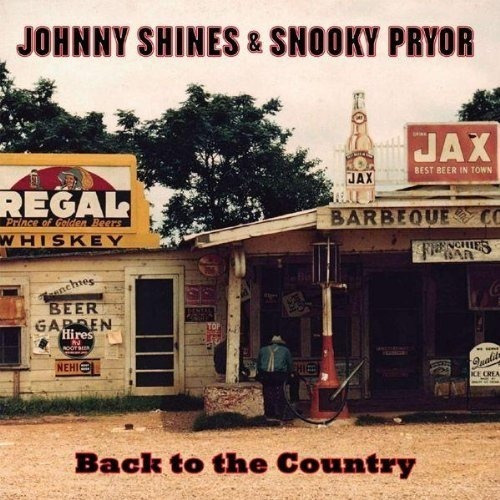 Lp Johnny Shines &snooky Pryor- Back To The Country (180g)