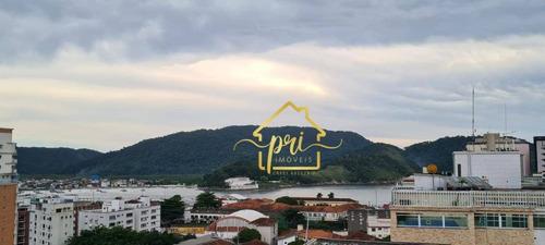 Imagem 1 de 30 de Cobertura Com 3 Dormitórios À Venda, 270 M² Por R$ 1.699.000,00 - Ponta Da Praia - Santos/sp - Co0046